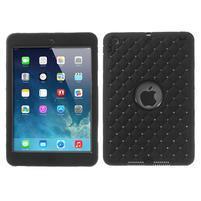 Hybridní kamínkové pouzdro pro iPad mini- černé