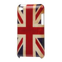 Plastové pouzdro na iPod Touch 4 - UK vlajka