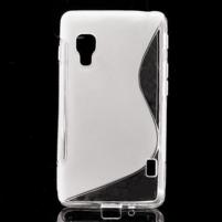 Gelové S-line  pouzdro pro LG Optimus L5 II E460- transparentní