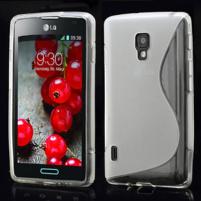 Gelové S-line pouzdro pro LG Optimus L7 II P710- šedé