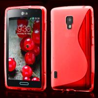 Gelové S-line pouzdro pro LG Optimus L7 II P710- červené