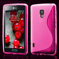 Gelové S-line pouzdro pro LG Optimus L7 II P710- růžové