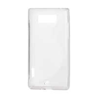 Gelové S-line pouzdro pro LG Optimus L7 P700- transparentní