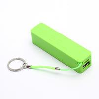 2600mAh externí baterie Power Bank - zelená