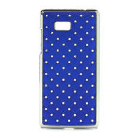 Drahokamové pouzdro pro HTC Desire 600- modré