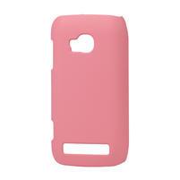 Pogumované pouzdro pro Nokia Lumia 710- světlerůžové