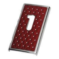 Drahokamové pouzdro na Nokia Lumia 920- červené