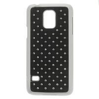 Drahokamové pouzdro na Samsung Galaxy S5 mini G-800- černé