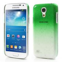 Plastové minerální pouzdro pro Samsung Galaxy S4 mini i9190- zelené