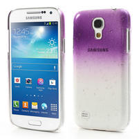 Plastové minerální pouzdro pro Samsung Galaxy S4 mini i9190- fialové