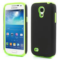 Hybridní pouzdro na Samsung Galaxy S4 mini i9190- zelené
