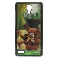 Hard Case 3D pouzdro na Xiaomi Mi3- medvídek