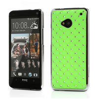 Drahokamové pouzdro pro HTC one M7- zelené