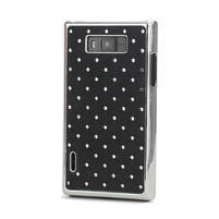 Drahokamové pouzdro pro LG Optimus L7 P700- černé