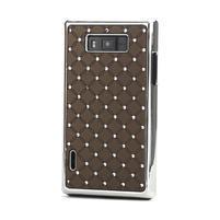 Drahokamové pouzdro pro LG Optimus L7 P700- coffee