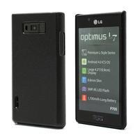Texturované pouzdro pro LG Optimus L7 P700- černé