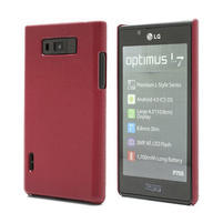 Texturované pouzdro pro LG Optimus L7 P700- červené