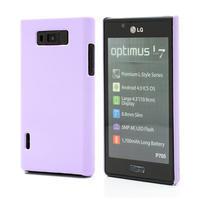 Texturované pouzdro pro LG Optimus L7 P700- fialové