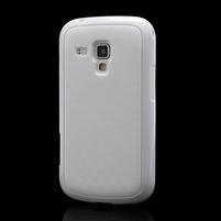 Plastogelové pouzdro na Samsung Galaxy Trend, Duos- bílé