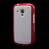 Plastogelové pouzdro na Samsung Galaxy Trend, Duos- červené