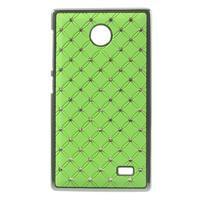 Drahokamové pouzdro na Nokia X dual- zelené