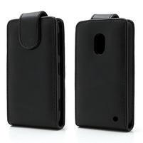 Flipové pouzdro na Nokia Lumia 620- černé