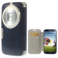 Flipové pouzdro na Samsung Galaxy K zoom C115 - modré