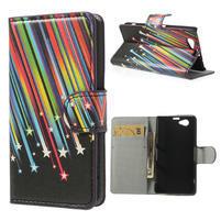 Peněženkové pouzdro na Sony Xperia Z1 Compact D5503 - meteor