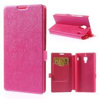 Peněženkové pouzdro na Xiaomi Hongmi Red Rice- růžové