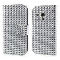 Čiré pouzdro pro Samsung Galaxy S3 mini / i8190 - kamínkové