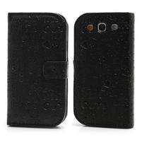 Peněženkové pouzdro na Samsung Galaxy S3 i9300- černé