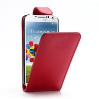 Flipové pouzdro pro Samsung Galaxy S4 i9500- červené