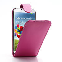 Flipové pouzdro pro Samsung Galaxy S4 i9500- růžové