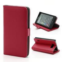 Peněženkové pouzdro na LG Optimus L7 P700 - červené