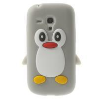 Silikonový TUČŃÁK pouzdro na Samsung Galaxy S3 mini i8190- šedý