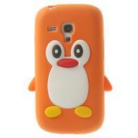 Silikonový TUČŃÁK pouzdro na Samsung Galaxy S3 mini i8190- oranžový