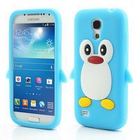 Silikon 3D TUČŇÁK pro Samsung Galaxy S4 mini i9190- světlemodrý
