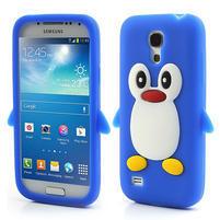 Silikon 3D TUČŇÁK pro Samsung Galaxy S4 mini i9190- modrý