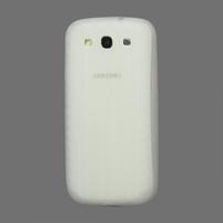Silikonové PNEU pozdro pro Samsung Galaxy S3 i9300 - bílé