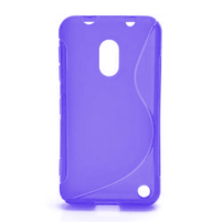 Gelové S-line pouzdro na Nokia Lumia 620- fialové