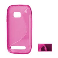 Gelové S-line pouzdro pro Nokia Lumia 710- růžové