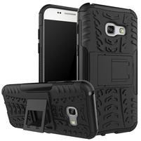 Outdoor odolný obal na mobil Samsung Galaxy A3 (2017) SM-A320 - černý