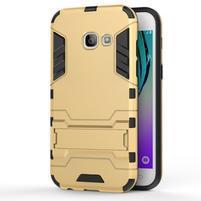 Armory odolný obal na Samsung Galaxy A3 (2017) SM-A320 - zlatý
