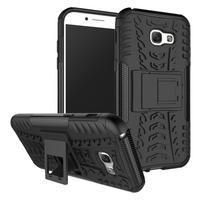 Outdoor odolný obal na mobil Samsung Galaxy A5 (2017) SM-A520 - černý