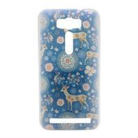 Emotive plastový obal na mobil Asus Zenfone 2 Laser - animal