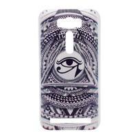Emotive plastový obal na mobil Asus Zenfone 2 Laser - triangl