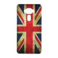 Plastový  obal na mobil Asus Zenfone 3 ZE520KL - UK vlajka