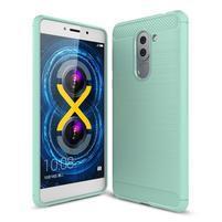 Odolný gelový obal s výstuhami na mobil Honor 6x - světlezelený