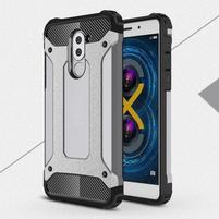 Defender odolný obal na mobil Honor 6x - šedý