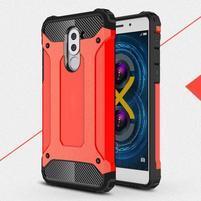 Defender odolný obal na mobil Honor 6x - červený